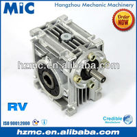 Chinese Mechanical Power Transmission NRV Series Aluminium Alloy Worm Wheel Speed Reducer Gearbox with AC Motor