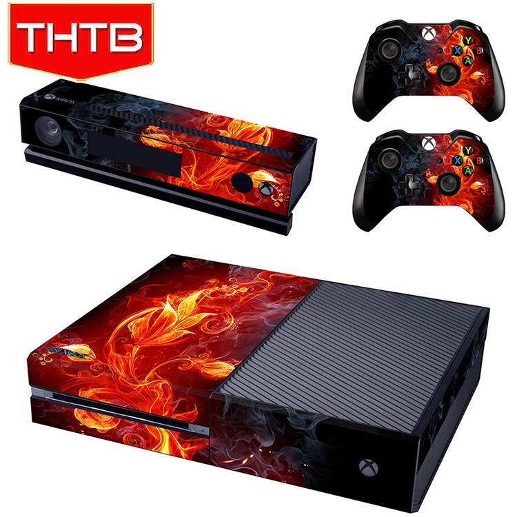 Full set removable skin stickers for xbox one xbox1 console controller