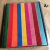 50 x Multi Coloured Tissue Paper / Gift Wrap paper sheets