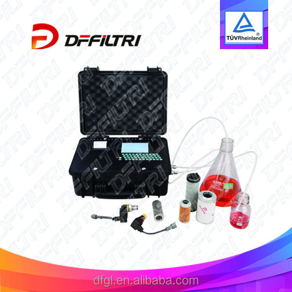 High Precision N (c) - 6 Portable Hydraulic Oil Contamination Particle Counters