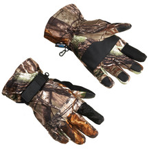 Camouflage neoprene Hunting Gloves/ Hunting Winter Gloves / Shooting Gloves