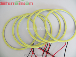 100mm COB LED White Color Angel Eyes/ 100mm Universal Fit LED Halo Rings for Projector Lens