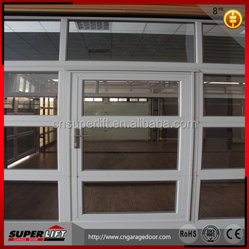 commercial aluminium door with glass window