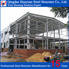 Low cost Prefabricated construction steel building