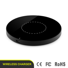 Universal 5V 1A Fast Qi Wireless Charger Charging Pad Charging Transmitter Power Adapter Pad For iPhone