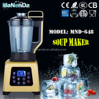 2016 hot salling 2L electric multifunction blender soup maker
