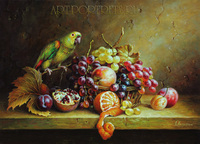 home decorative oil painting pictures of fruits
