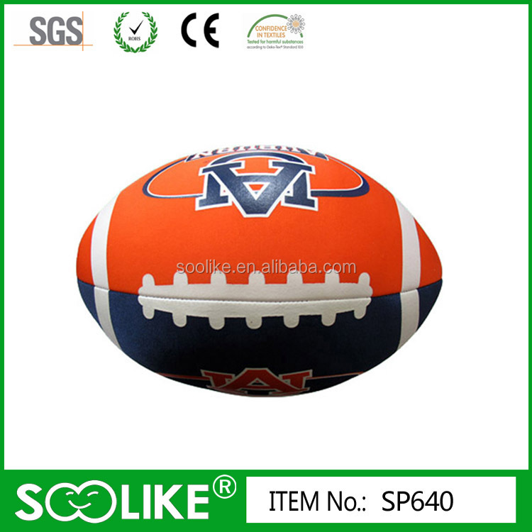 Fashion American football shaped microbeads pillow