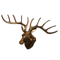 Brand new metal deer wall sculpture with Best Price
