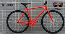 700c best price colorful fixed gear bike fashion design red black color