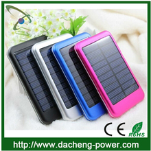 Factory wholesale solar laptop charger for lenovo solar cell charger 5000mAH with LED lights