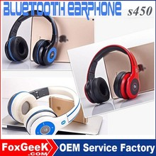Bluetooth V4.0 Wireless Bluetooth Hands Free Earphone S450 Sports Headset with Memory Card for Smartphone