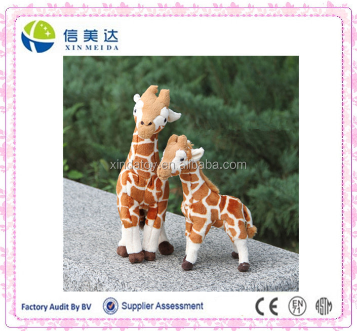 Natural Forest Animal Giraffe Plush Stuffing Toy