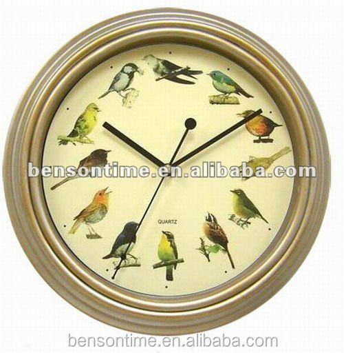 Cason Rhythm Singing Cuckoo Bird Wall Clock