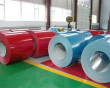 zinc coated full hard hot dipped prepainted galvanized steel coil for building materials