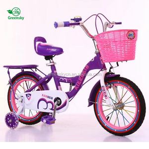 China Wholesale Cheap children bicycle for 4 years old / sports boys kids folding bike / greensky toys 14 inch children bike