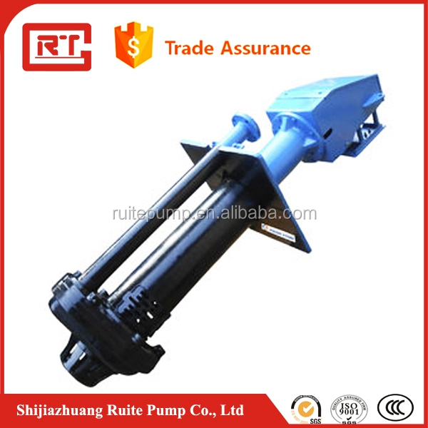 Centrifugal Mineral Processing rubber wet parts solid slurry pump
