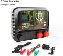 cattle electric fencing 12KV 5 Joule energizer charger