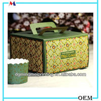 Dongguan manufacture Mooncake packaging box cake box