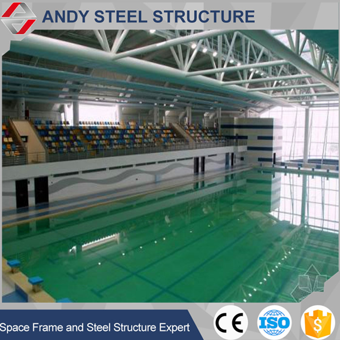 Metal Steel Frame Truss Roofing Structural Shed Swimming Pool