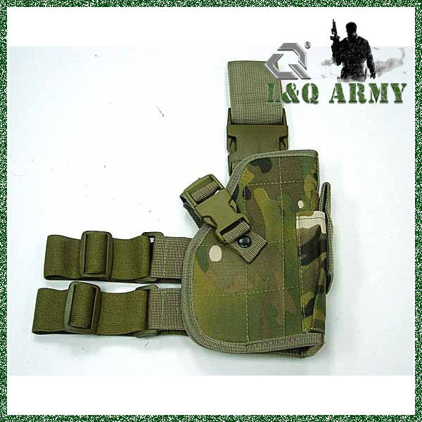 MILITARY TACTICAL DROP LEG PISTOL HOLSTER