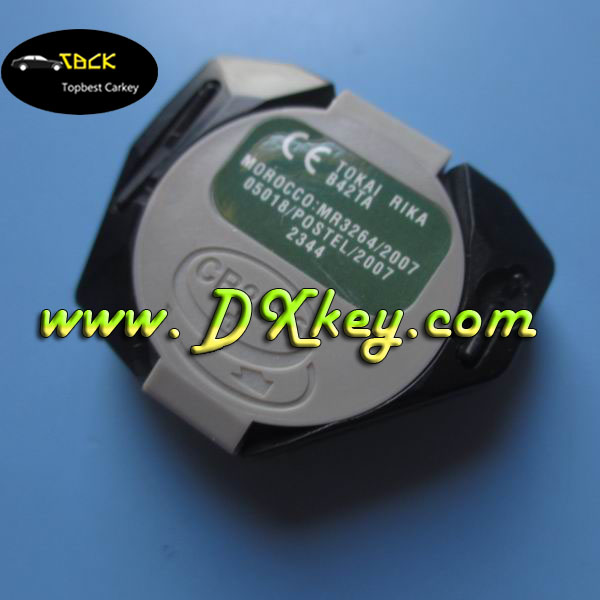 topbest Original 3 Button Remote Set Blue One 433MHZ for smart key toyota Use in HK TW Thailand Brazil