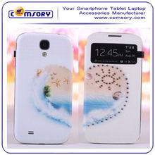 For SAMSUNG Galaxy S4 I9500 Diamond leather case loving heart case