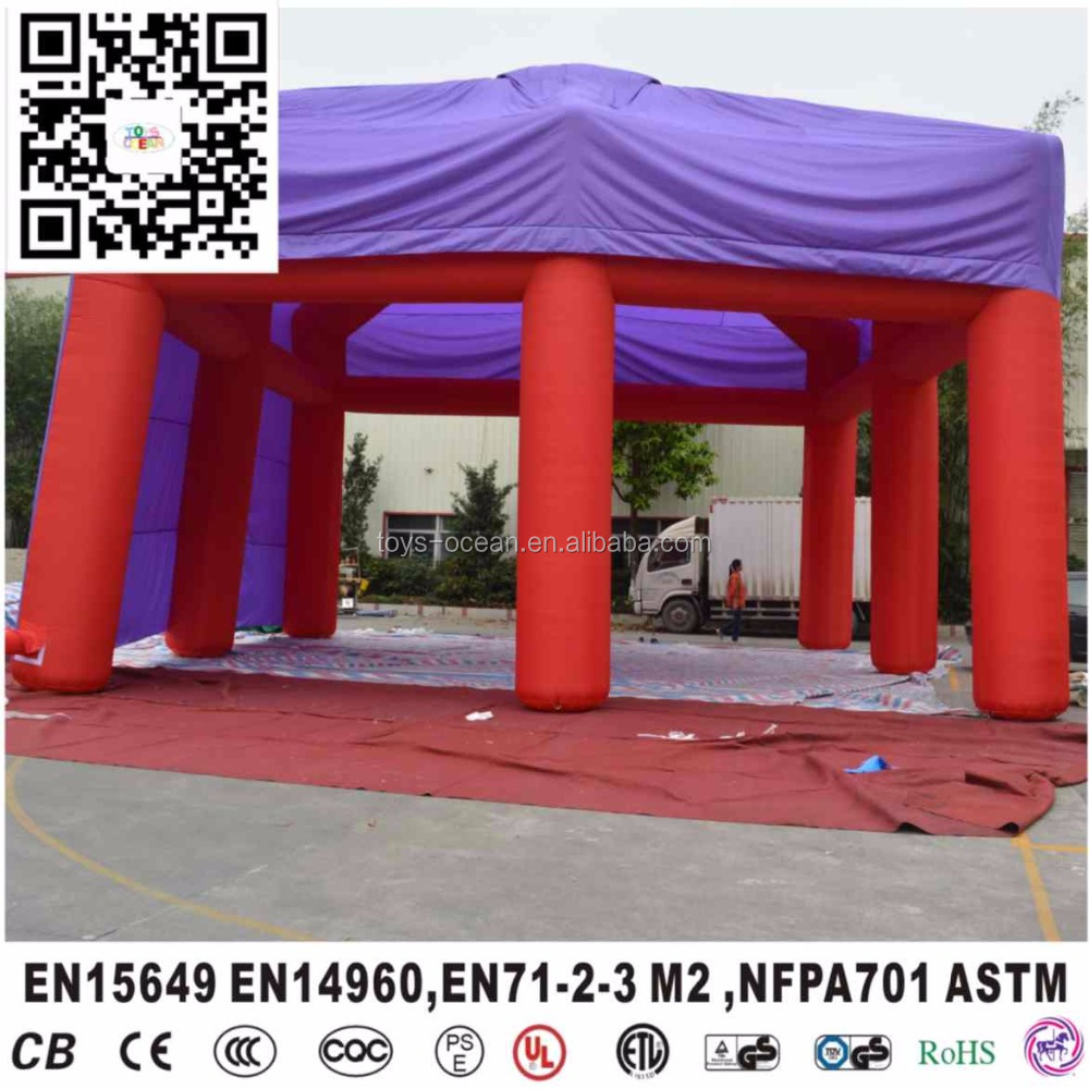 Custom Cheap Big trade show tent Inflatable Outdoor event marquee Advertising Party Tent