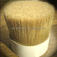 alibaba express natural white bristle pig hair