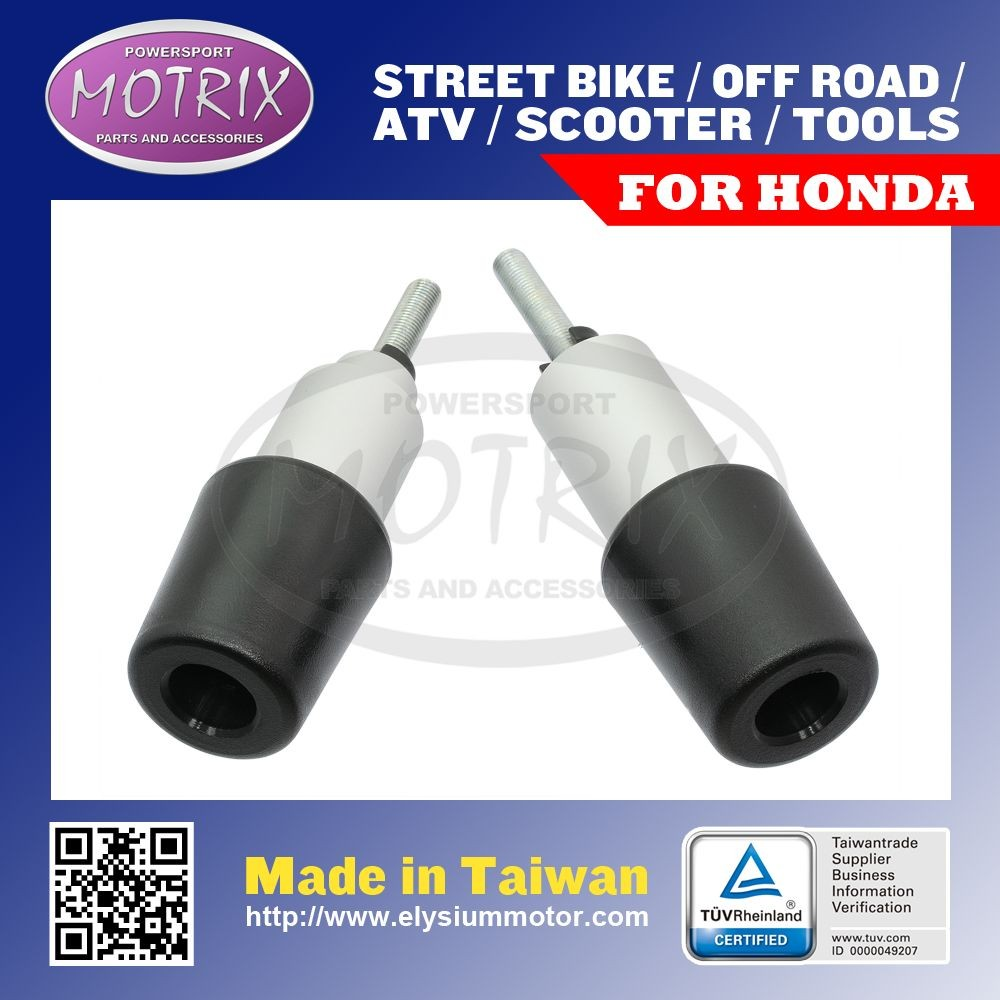 MOTORCYCLE STREET BIKE ACCESSORIES DOUBLE HARD FRAME PROTECTORS For HONDA CBR900RR 00-03 NEW STYLE