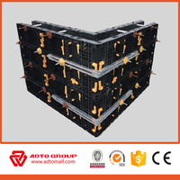 2016 hot sell PVC plastic construction formwork with vast advantages