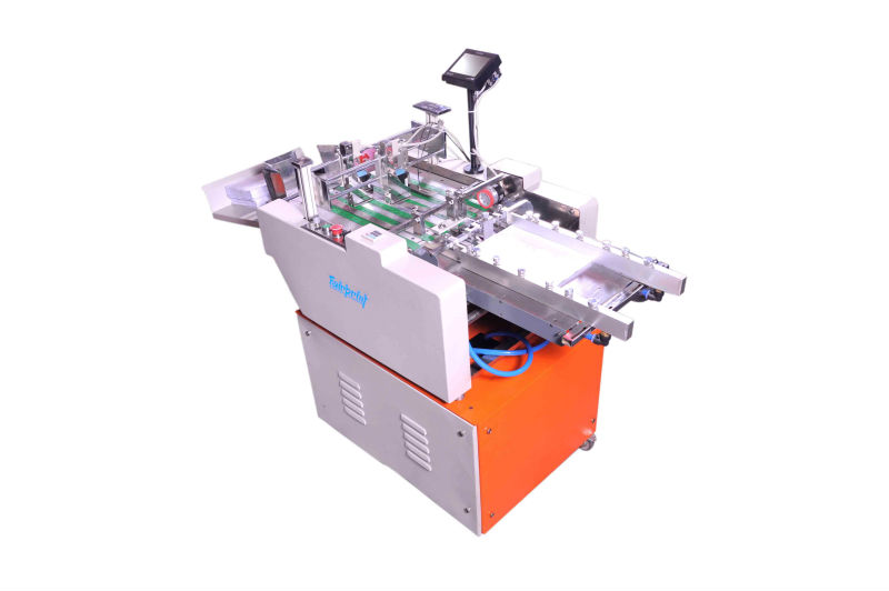 Numbering and barcoding machine