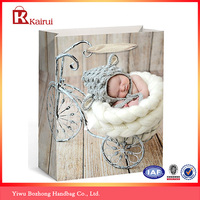 Professional Custom Cheap Shopping Gift Paper Bag & Fancy Lovely Kids Decorate Gift Paper Bag