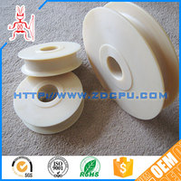 Best price wear resistant durable hollow plastic wheels