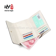 Promotional colorful nature leather wallet