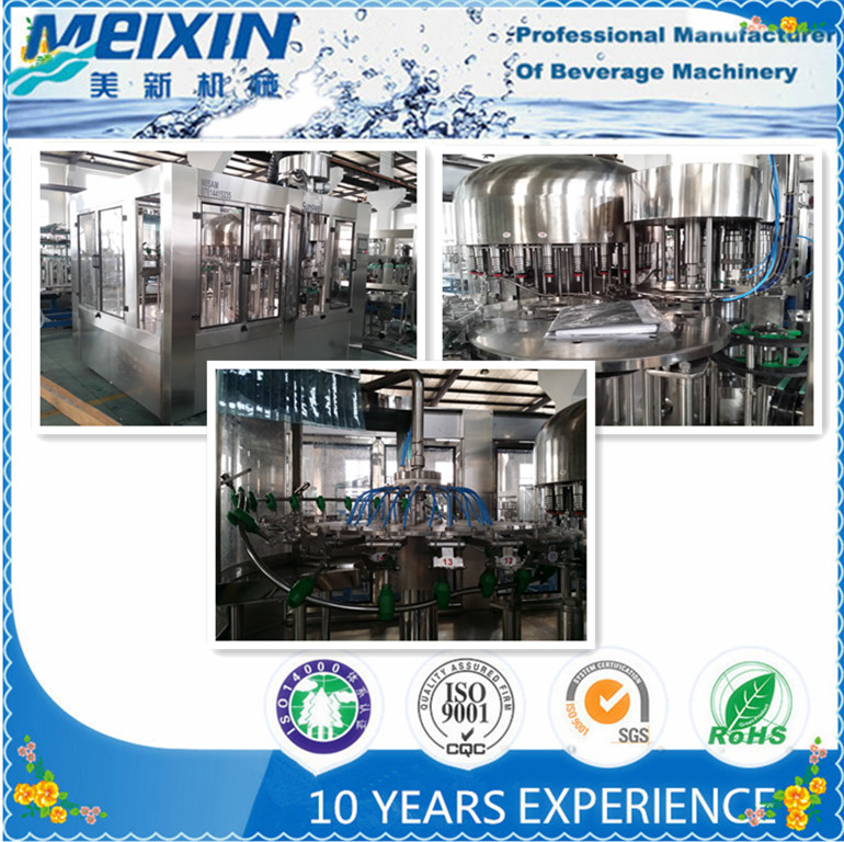Plastic Bottle Pure Water Filling Machine or Water Filling Equipment