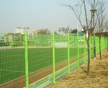 THE REINFORCED WIRE MESH FENCE/Galvanized