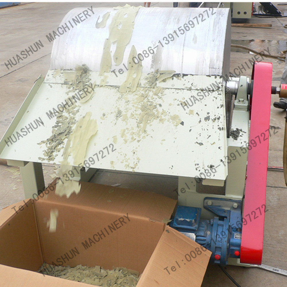 PE Wax making machine extruder for flake