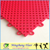 Popular outdoor interlocking flooring tiles Multi-use pp floor