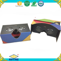 3D Glasses Active Version VR Virtual Reality Google Cardboard Paper Custom Printing Any Color