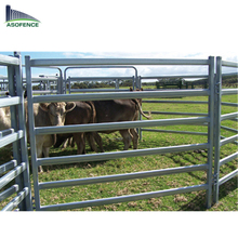 Australia standard double single High Quality steel pipe farm gates