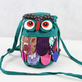 Yunnan Style Owl Backpack Kids Bag