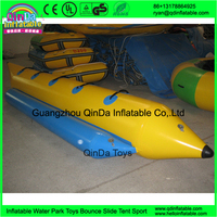Cheap Sea / Ocean Toys Funny Floating Inflatable Boat of Banana Shape