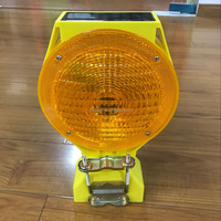 warning flashing traffic cone lamp