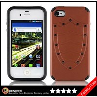 Keno High Quality Two Colors TPU Silicone Gel Bumper Cases for Apple iPhone4 4S Case