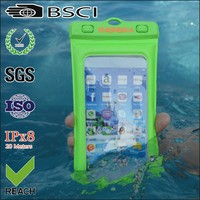 pvc mobile phone waterproof phone cover/mobile phone cover waterproof/waterproof mobile phone cover bag