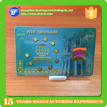 High quality smart card pet iso/iec 14443