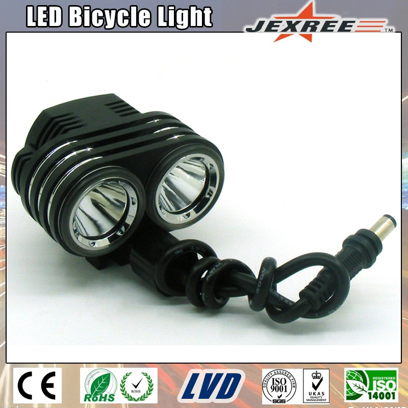 1500 Lumens High Bright Rechargeable Waterproof Battery Bicycle Light
