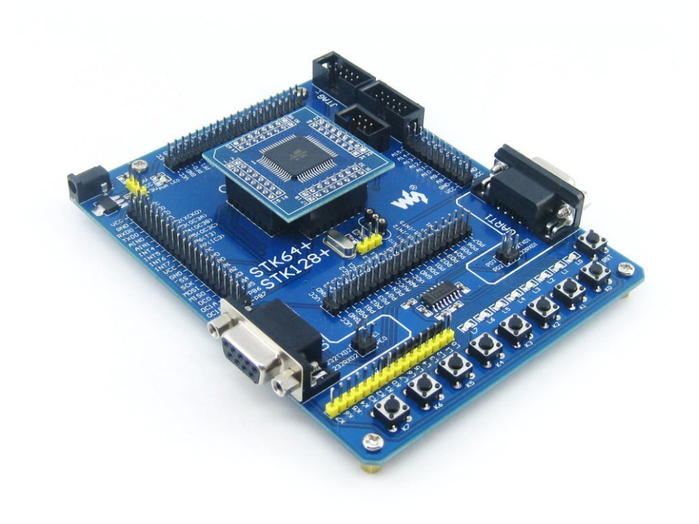 Development Board Designed for ATmega128, With <strong>1</strong> piece of ATmega128 Device Board