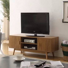 Modern wooden lcd tv cabinet with DVD racks designs